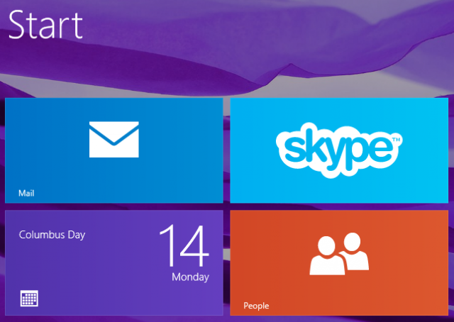 mail application on windows 8.1