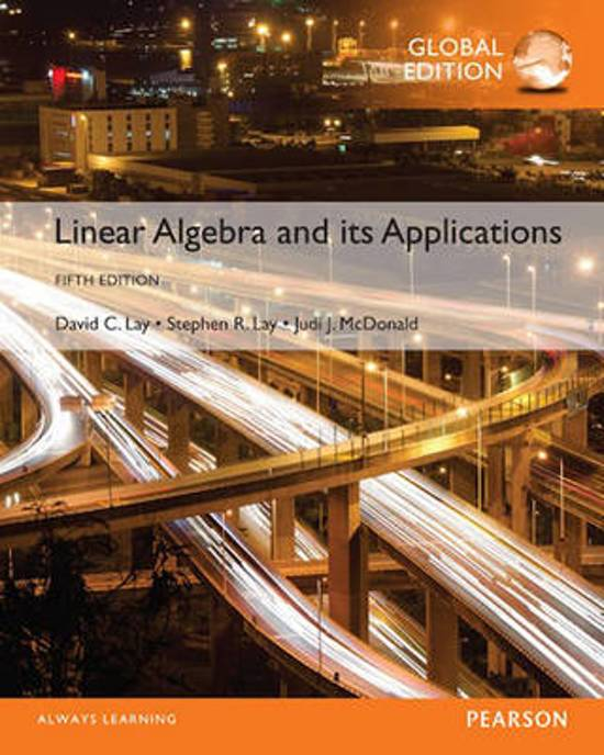linear algebra and its applications global edition 5 e