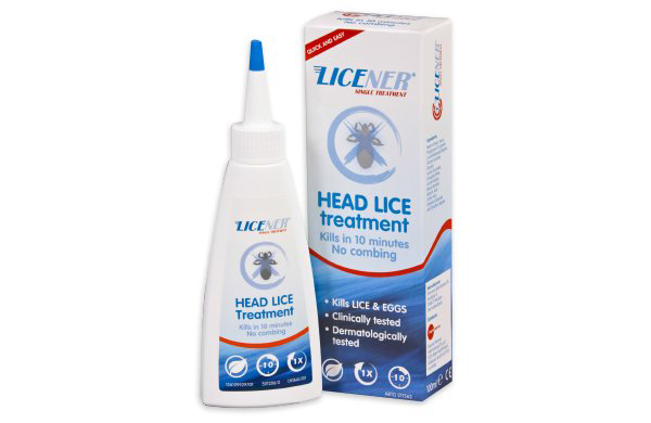 one application head lice lotion