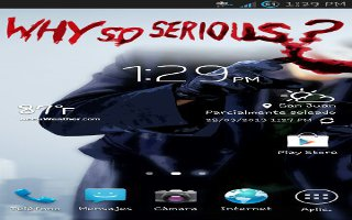 samsung s4 add application to home page