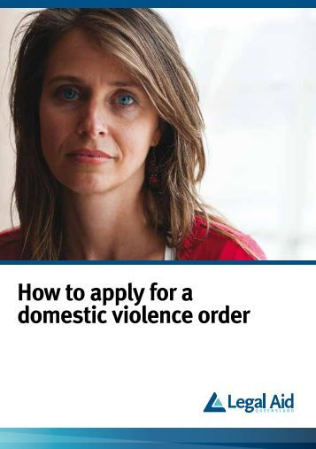 application for a domestic violence order queensland