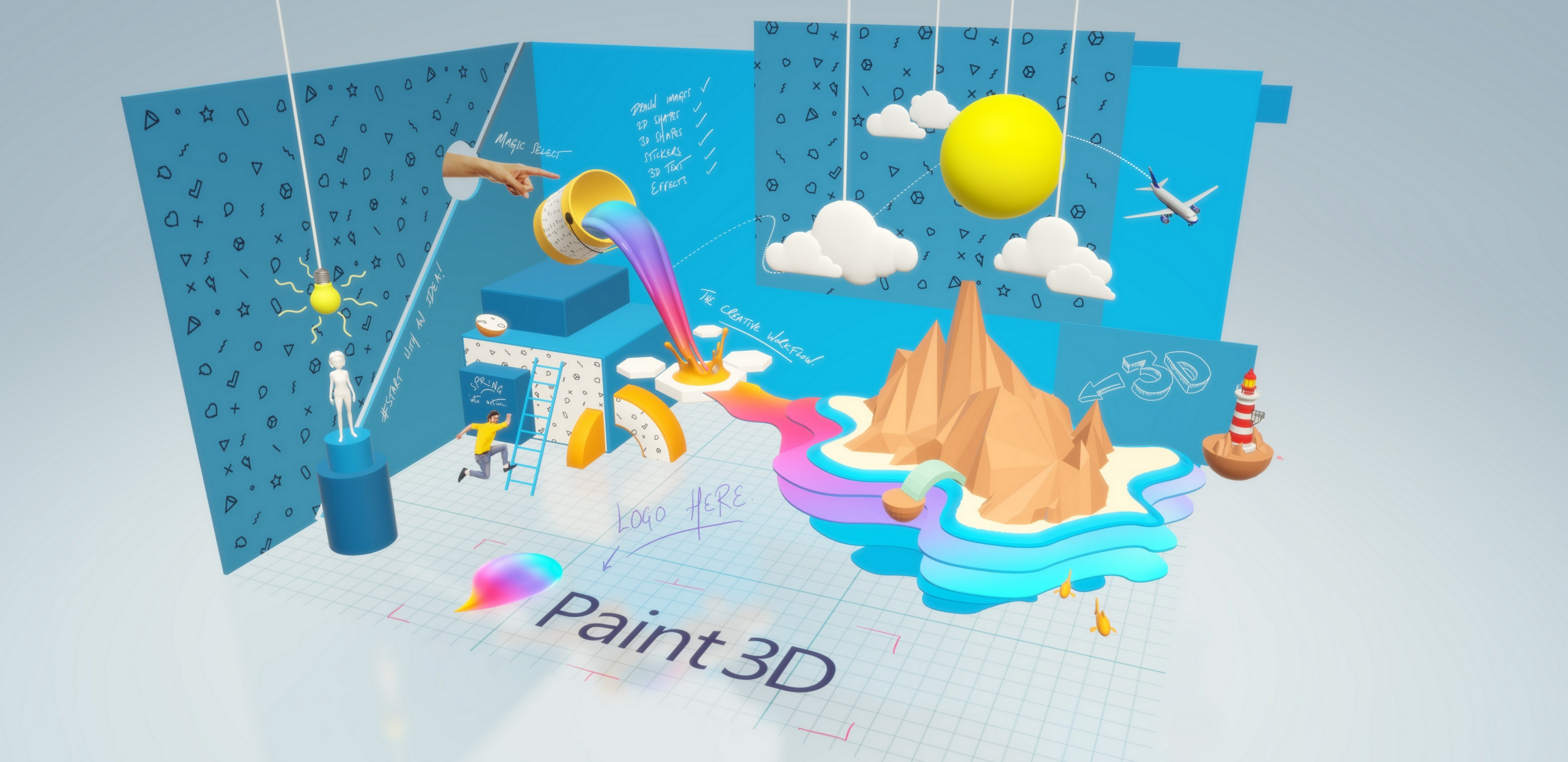 creating a 3d view in windows forms application with xna