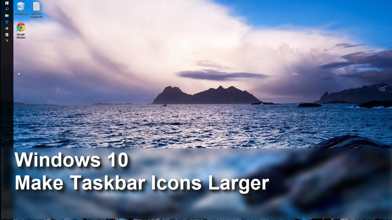how to hide icon of active application on taskbar