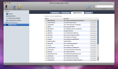 how to check recent applications downloaded on macbook