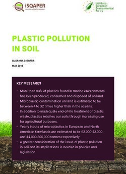pollution politics and application to protect the environment