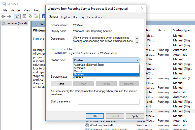 stop adobe application manager from launching windows