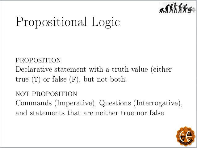 the applications of propositional logic